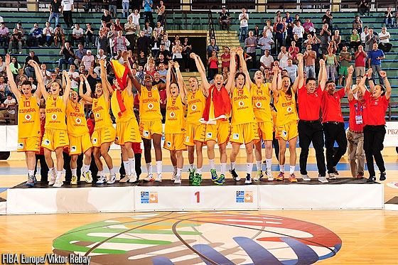 God medal winners Spain