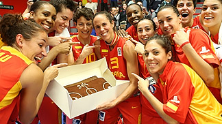 Amaya Valdemoro set a new record, as she put on a Spain jersey for the 254th time