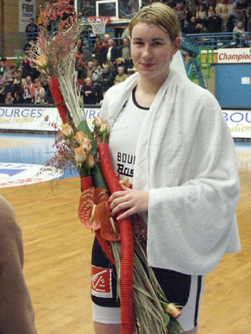 Another game MVP for 18 year old Elodie Godin (Bourges)