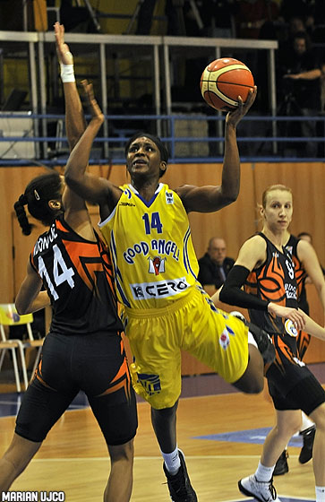 14. Crystal Langhorne (Good Angels Kosice)