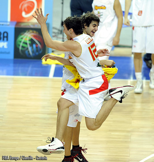 6. Ricky Rubio (Spain), 12. Sergio Llull (Spain)