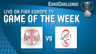 EuroChallenge Game of the Week 20/03 Ventspils v Szolnoki