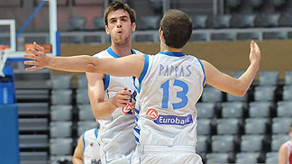7. Evangelos Mantzaris (Greece), 13. Nikolaos Pappas (Greece)