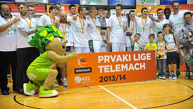 Krka Complete 'Five-Peat' In Slovenia