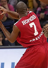 7. Bryan Hopkins (Antwerp Giants)
