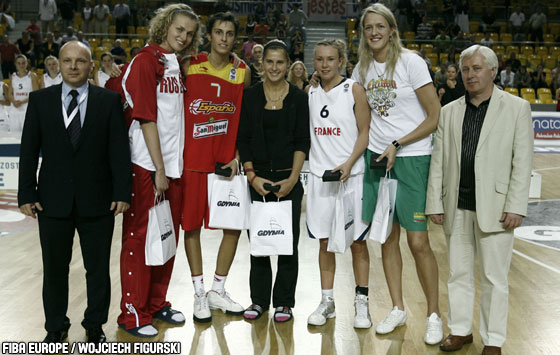 All Tournament Team U20 European Championship Women 2009