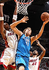Dirk Nowitzki, Dallas vs Miami