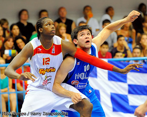12. Mamadou Samb (Spain), 10. Konstantinos Papanikolaou (Greece)