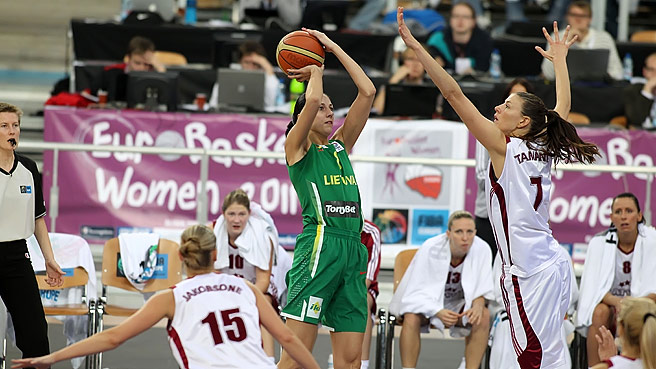 Lithuania Beat Latvia In Baltic Derby