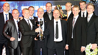 "Finland was named ""Team of the Year"" at the 7th annual Finnish Sports Gala on 14 January 2014"