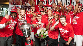 EiffelTowers Den Bosch - Dutch League Champions 2012