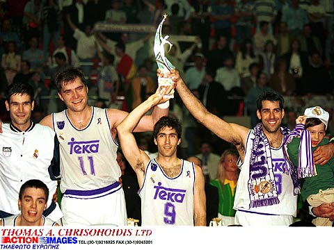 1995 EuroLeague champions Real Madrid