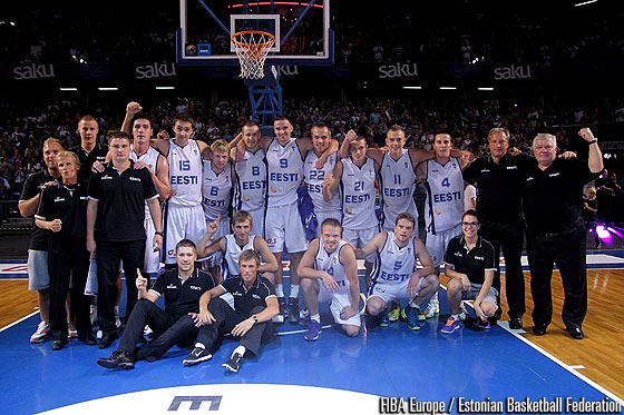 Estonia qualified to EuroBasket 2015
