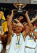 2003 EuroBasket Champions Lithuania