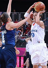 Celin Dumerc - France v Great Britain, London Olympics - 03/08/2012