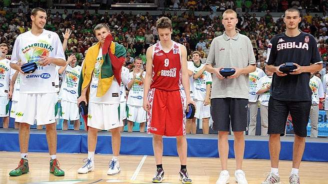 Valanciunas Heads All Tournament Team