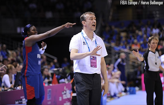 France head coach Pierre Vincent