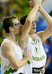 11. Goran Dragic (Slovenia), 12. Zoran Dragic (Slovenia)