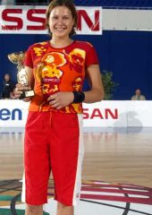 MVP of the tournament Olexandra Gorbunova 