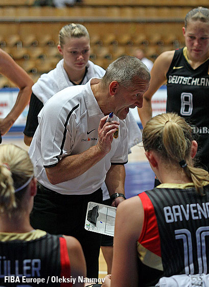 Germany head coach Imre Szittya