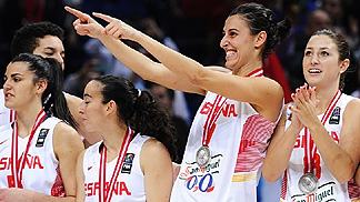 Alba Torrens (ESP) at the 2014 FIBA World Championship for Women