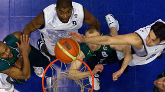 Ural Great and Khimik battle in the EuroCup Challenge finals
