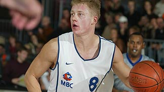 Jonas Elvikis (MBC) had 12 points against Benetton