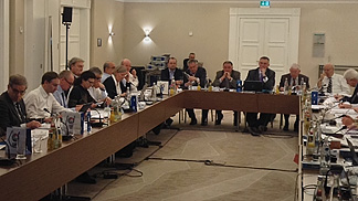 The Board of FIBA Europe in session, March 2014