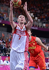 Vitaliy Fridzon, Russia v Spain; Olympic Games 2012, London