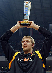 Dirk Nowitzki (Germany) - Top Scorer and MVP